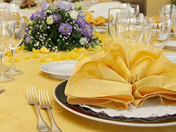 Ricevimenti di nozze gratis per bimbi fino a 4 anni e menù a metà prezzo fino ai 10 al Living Garden