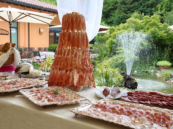 Degustazione menù nuziale gratuita per gli sposi che scelgono Gavinell – Ristorante giardino boanico
