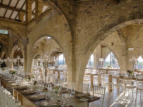 La Fornace Spazio Eventi regala la suite ai novelli sposi per festeggiare la loro prima notte di nozze