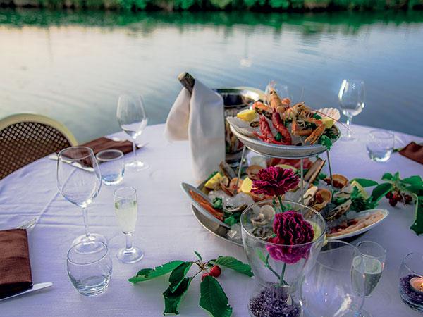 Al ristorante Lago Reale di Mappano i bambini godono di menù dedicati a un prezzo speciale