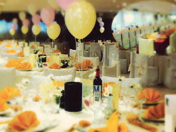 Ricevimenti di nozze con menù bimbi gratis fino a 3 anni presso il ristorante Tenuta Villa Rosa