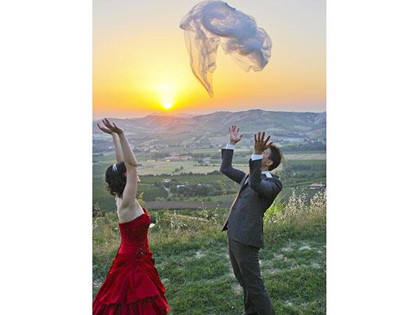 """Foto B.G. celebra con voi le nozze, regalandovi due album libro genitori e """"Save the date"""""""