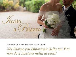 Palazzo di Varignana vi invita a cena giovedì 10 dicembre per farvi… gustare la location