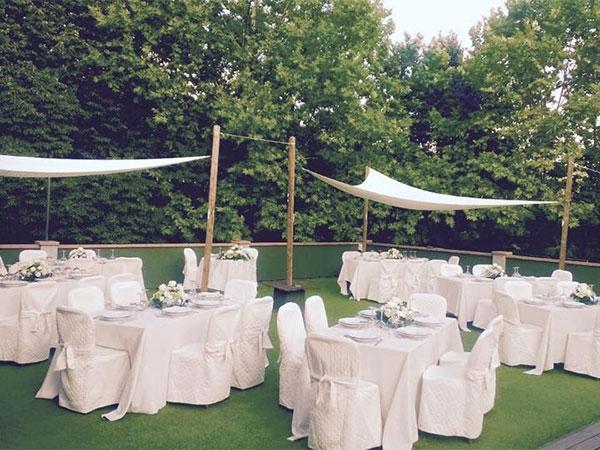 Organizzando il ricevimento delle nozze presso il ristorante Al Covo riceverete il 10% di sconto