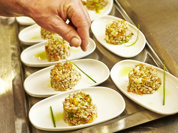 Al ristorante Locanda Sant'Agata i menù di nozze fuori stagione partono dal prezzo di 50 euro