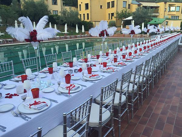 Lovely Eventi Catering regala ai novelli sposi il 5% di sconto sul ricevimento delle nozze