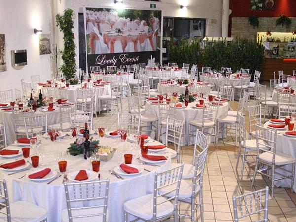 I prezzi dei menù feriali per le vostre nozze da Lovely Eventi Catering partono da 50 euro