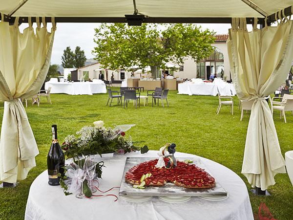 Per le vostre nozze, menù feriali a partire da 55 euro presso il ristorante Locanda Sant'Agata