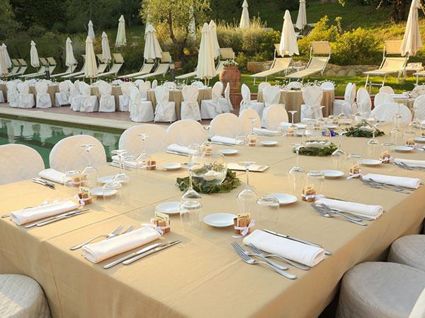 5% di sconto per le coppie che organizzano le proprie nozze presso la location Sporting Club Ugolino