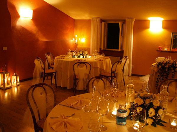 10% di sconto sui ricevimenti infrasettimanali e fuori stagione presso il ristorante Villa Bongi