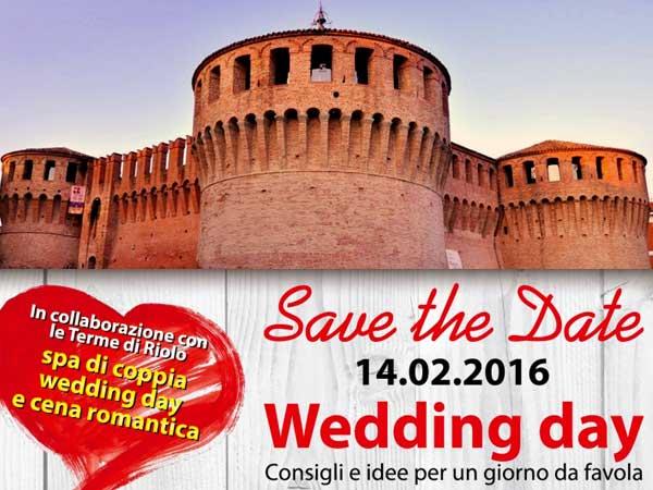 Wedding Day 2016 alla Rocca di Riolo: festeggiate così il vostro ultimo San Valentino da fidanzati