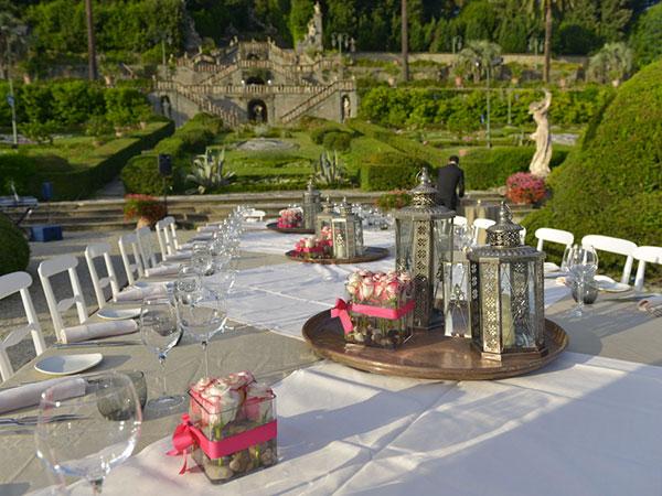 Menù per le nozze feriali e fuori stagione a partire da 60 euro presso il ristorante Villa Garzoni