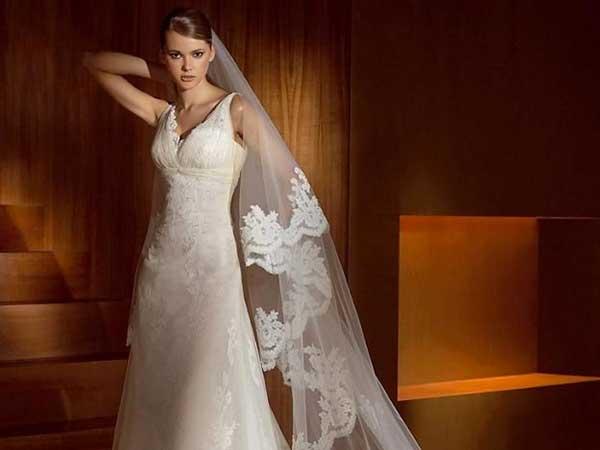 Presso Viola Atelier, con l'acquisto dell'abito da sposa riceverete in omaggio un preziosissimo velo
