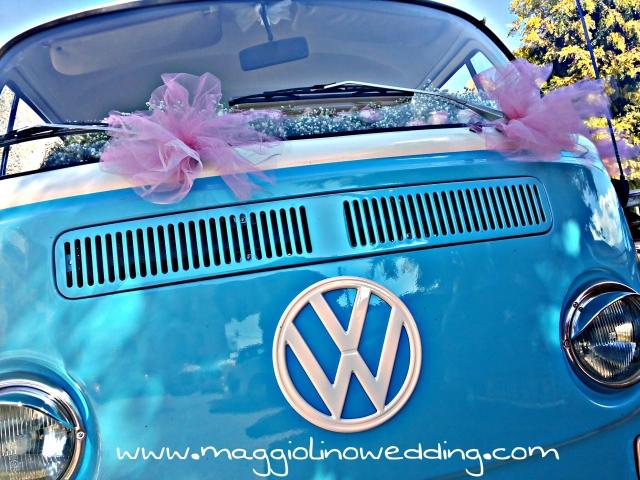 Pulmino Volkswagen Wedding