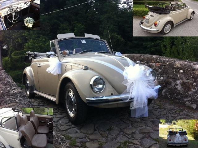 Maggiolino Cabrio Toscana auto matrimono sposi
