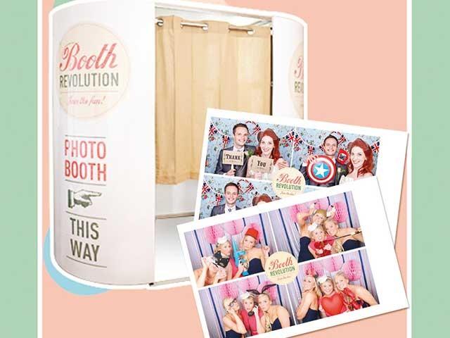 Prenotando le cabine foto di Booth Revolution entro l\'estate, riceverete il 10% di sconto