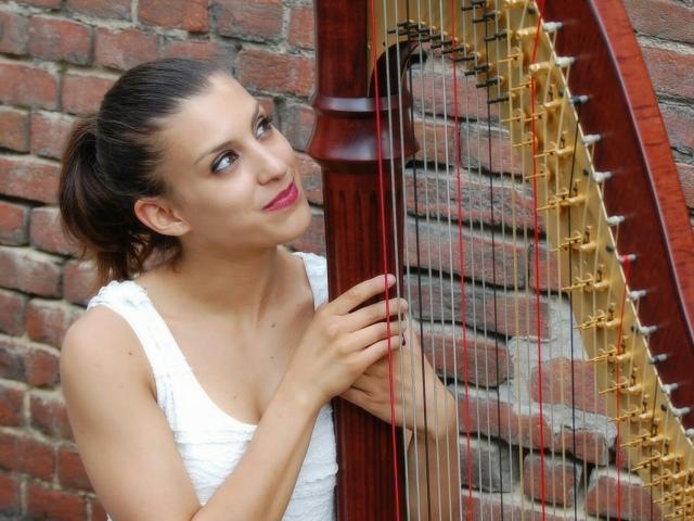 Chiara Sebastiani, Arpista