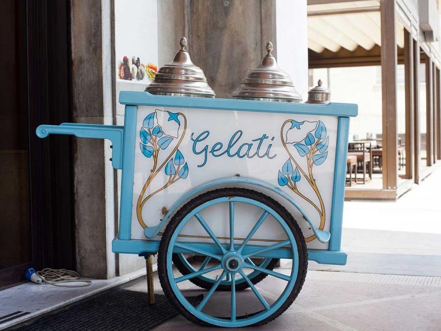 Un Ice Cream Bar al vostro ricevimento di nozze