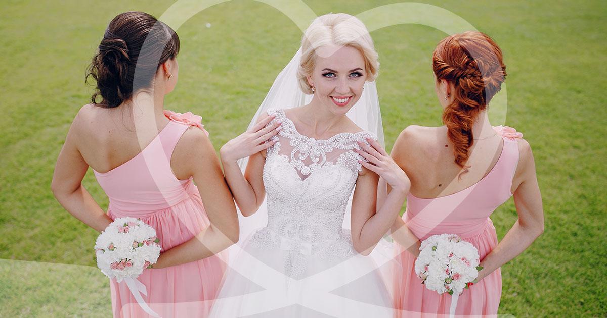62cbc6e609e2 Le damigelle a fianco della sposa nel suo speciale giorno delle nozze -  Guidasposi.it