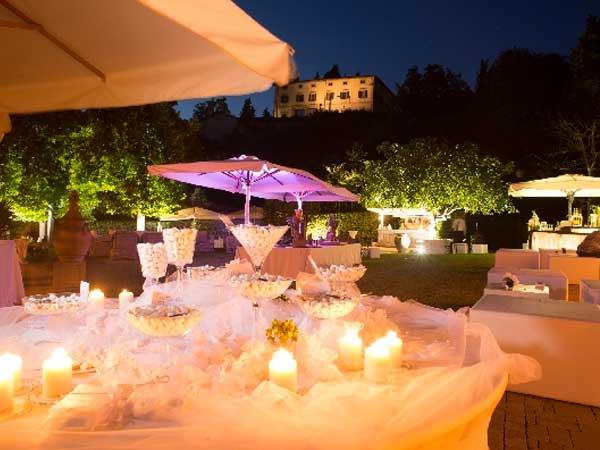 La Fornace propone menù di nozze, con incluso l'affitto della location, a partire da 85 euro