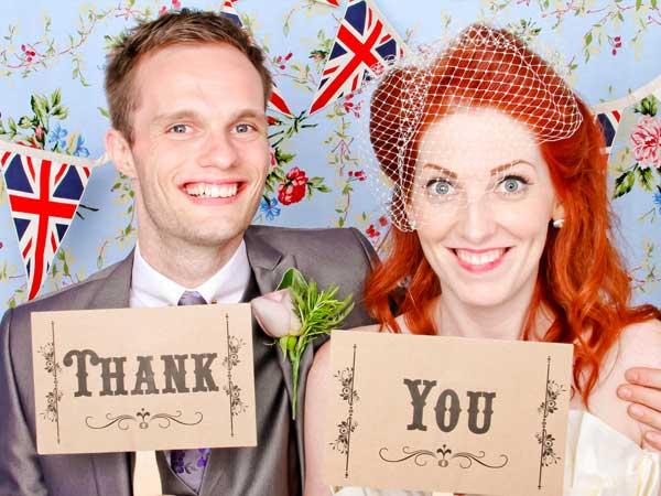Prenotando le cabine foto di Booth Revolution riceverete il 10% di sconto sul pacchetto matrimonio