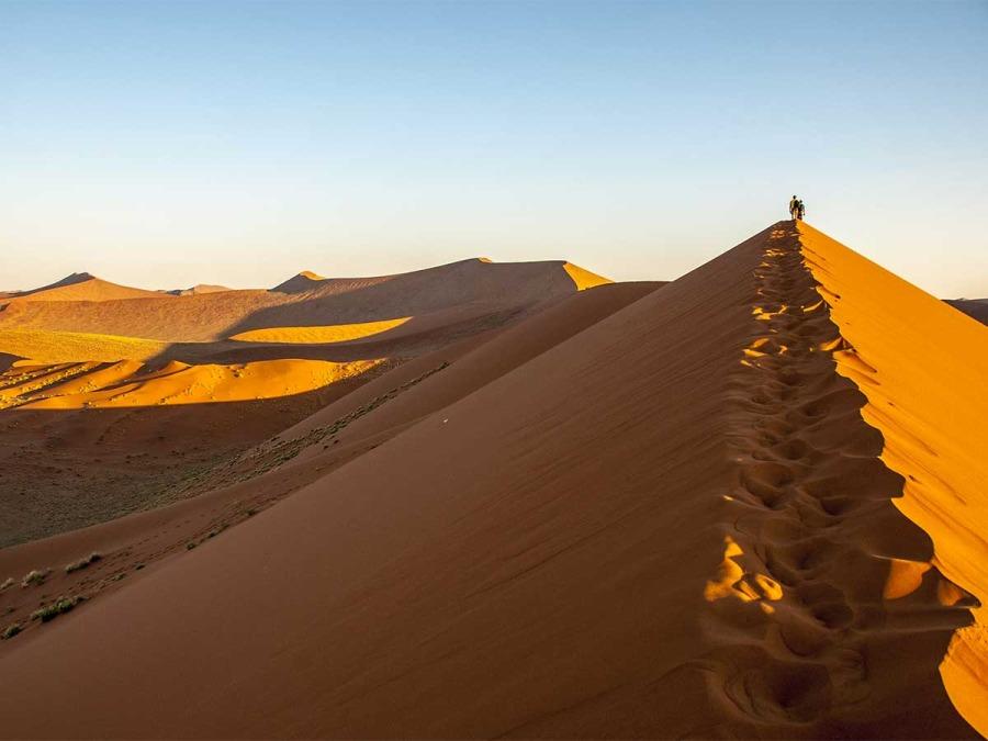 In volo sui deserti per il vostro viaggio di nozze in Namibia