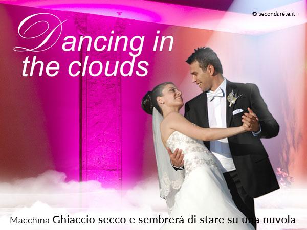 """""""Passeggiare su una nuvola"""" il giorno delle proprie nozze è possibile grazie a Secondarete"""
