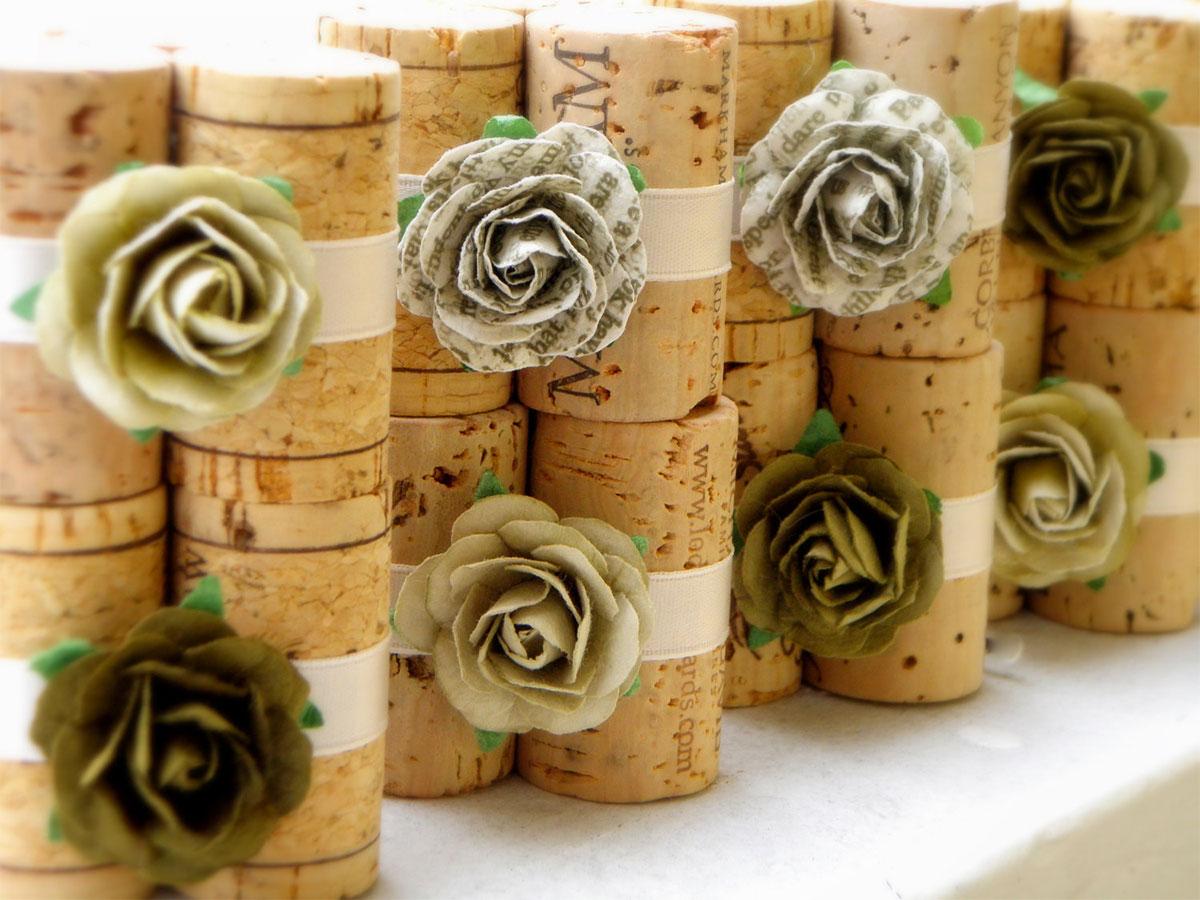 Segnaposto Matrimonio Con Girasoli : Via libera alla creatività con i segnaposto per il vostro
