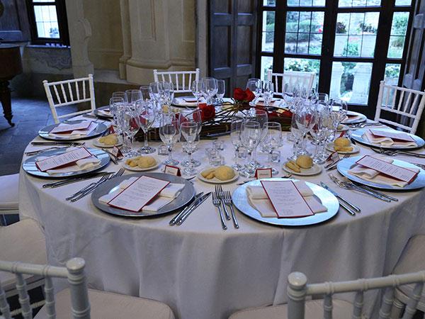 Prenotando il servizio catering delle vostre nozze presso Il Gufo Bianco, riceverete il 5% di sconto