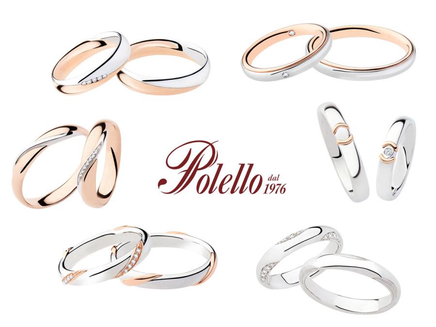 Polello amplia la collezione delle fedi nuziali 2016 con sei nuovi modelli in oro bianco e rosa