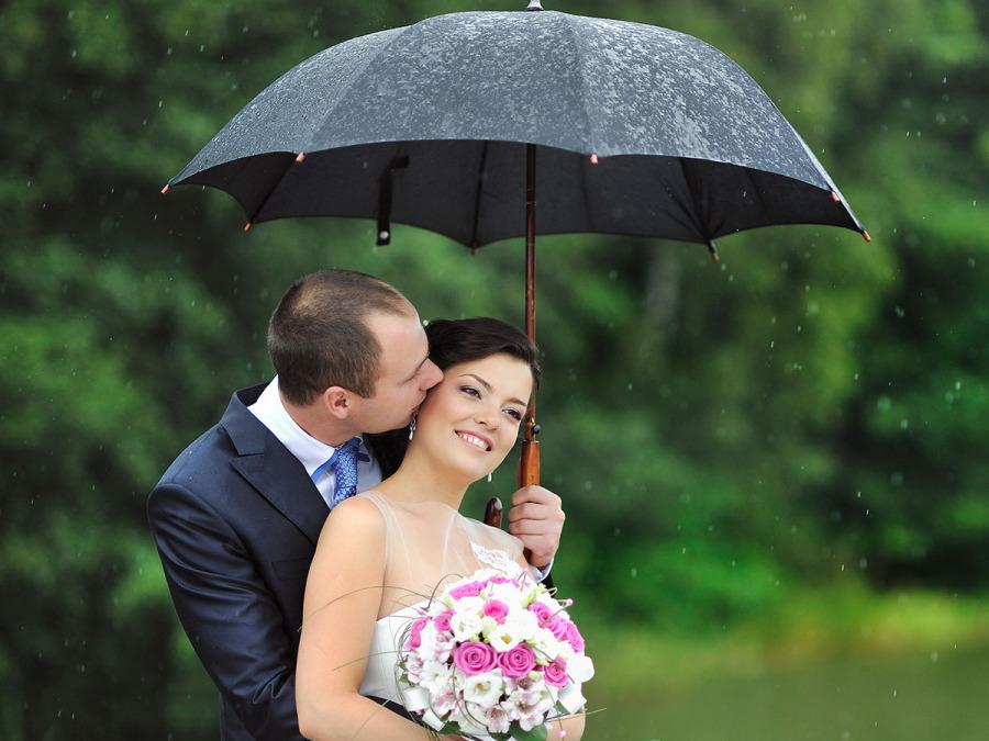 Non permettete che la pioggia rovini il vostro matrimonio facendovi ritrovare... sotto l'acqua