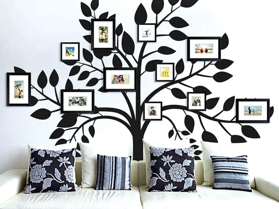 Pareti e mobili si trasformano nella tela immacolata di un talentuoso pittore