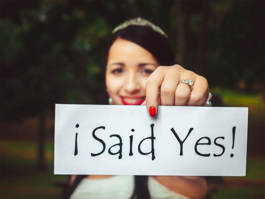 Tu vuo' fa' l'americana… gli States insegnano, anche quando si parla di matrimonio