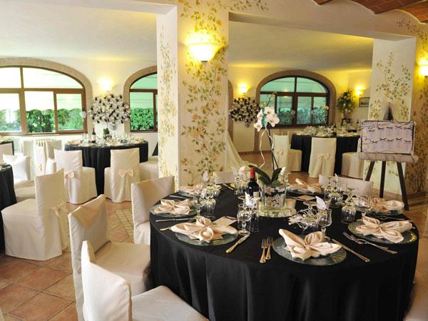 Scegliendo il ristorante I Gioielli per il ricevimento, la degustazione del menù di nozze è omaggio