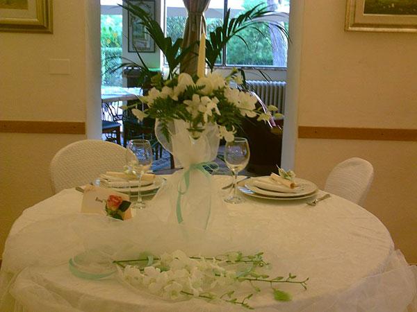 La prova del matrimonio è gratuita per gli sposi che scelgono il ristorante Villa dei Limoni