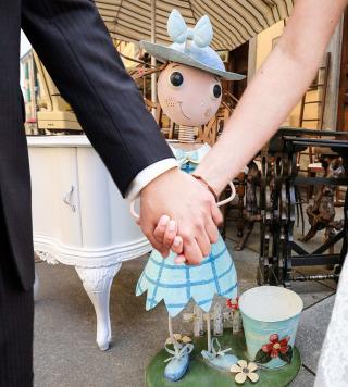 Balon, un mercato pieno di sorprese in pieno centro per le foto del matrimonio a Torino