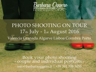 Scenari andalusi e lusitani per un Photo Shooting originale by Barbara Oggero