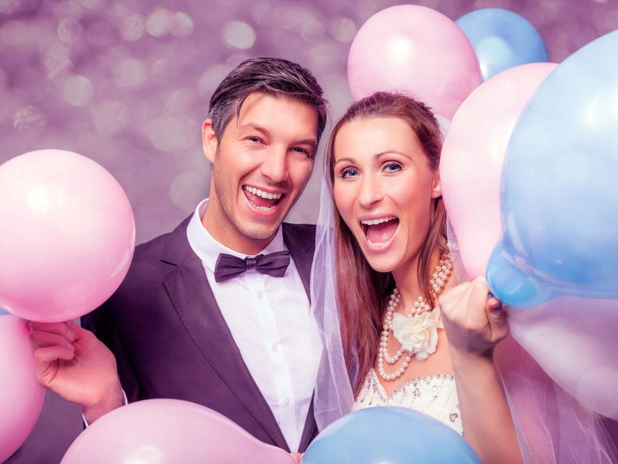 Animazione e gag per un ricevimento di nozze all'insegna del sano divertimento