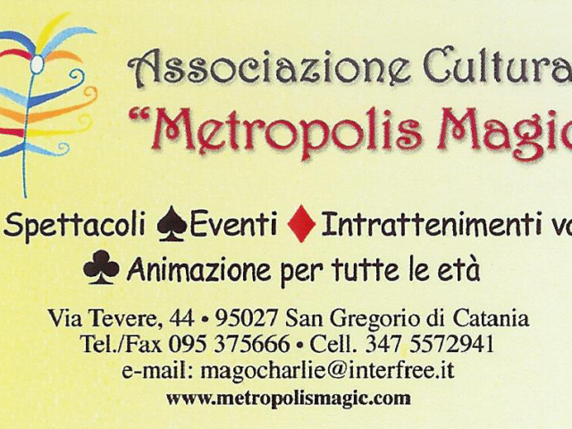 Agenzia Metropolis Magic