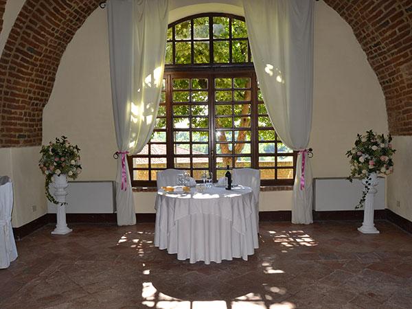 Al ristorante Castello di Cortanze i bambini partecipano gratuitamente fino ai 4 anni d'età
