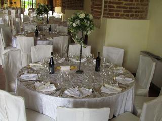 Vantaggiosa riduzione del 15% per i matrimoni infrasettimanali al ristorante Castello di Cortanze