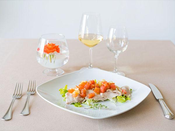 Prenotando il ricevimento di nozze presso il ristorante Casa Nicolini, la degustazione è in omaggio