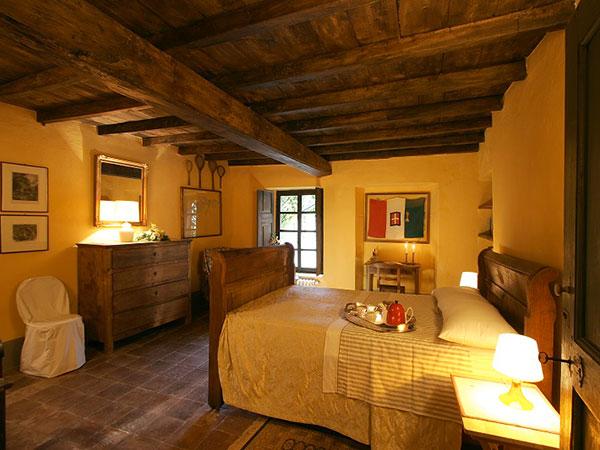 Il pernottamento nella suite è in regalo per gli sposi che scelgono il Castello di San Sebastiano