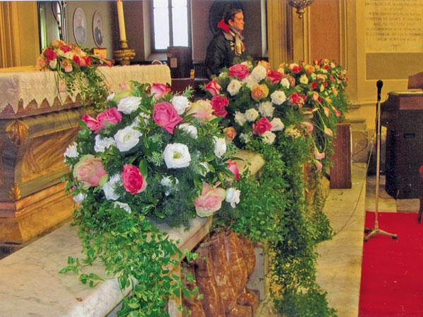 5% di sconto per tutte le coppie che acquistano gli addobbi floreali delle nozze da Artefiore