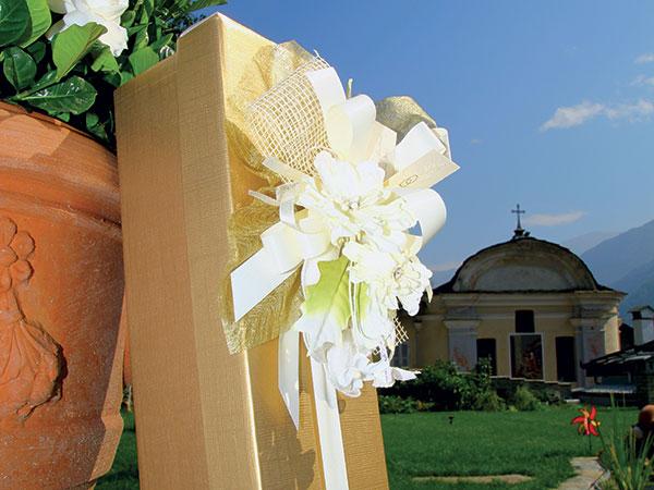 Sconti a partire dal 5% per gli sposi che si rivolgono a Caretto Bomboniere per le proprie nozze