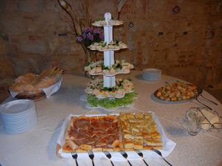 Prova del menù gratuita per tutti gli sposi che scelgono il servizio catering 'L Cornalin