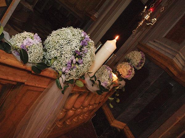 Gli addobbi floreali per le nozze di Petite Fleur sono scontati dell\'interessante 10%