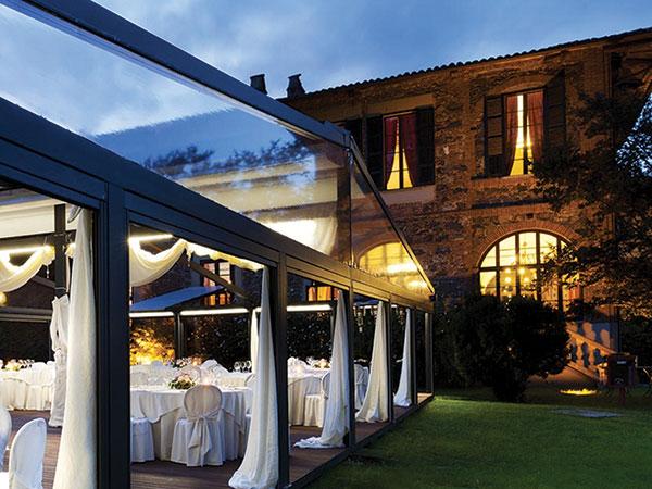 Suite in omaggio per gli sposi che commissionano il ricevimento al ristorante Villa Soleil