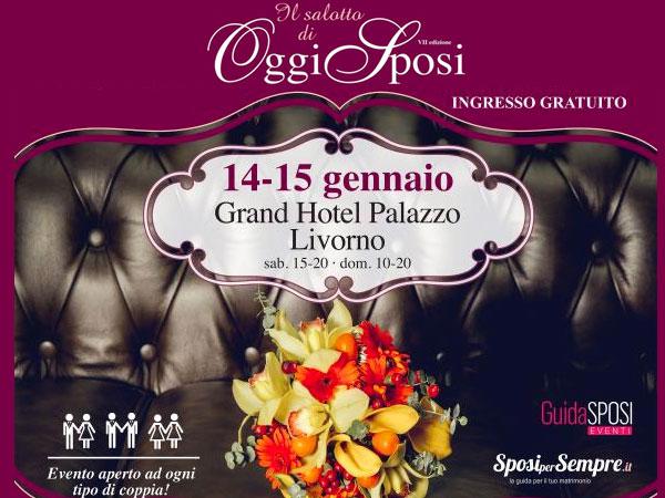 OggiSposi ritorna con la sua settima edizione il 14 e 15 gennaio 2017 a Livorno