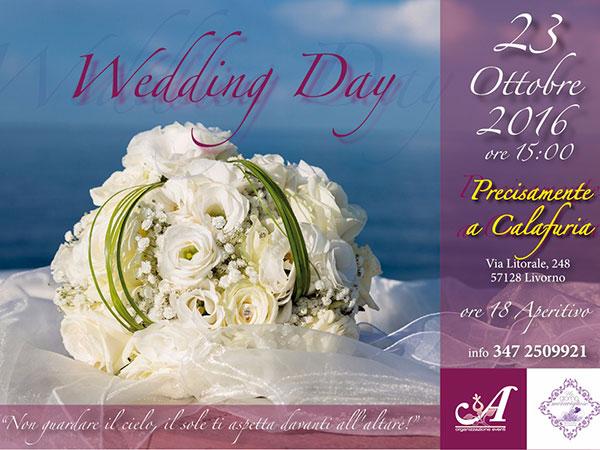 Precisamente a Calafuria organizza un Wedding Day per tutti i futuri sposi